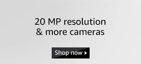 20 MP resolution and more cameras