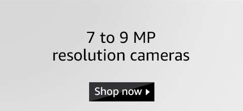 7 to 9 MP cameras