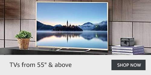 """TVs from 55"""" & above"""