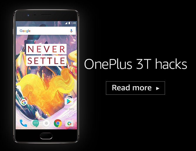 OnePlus 3T hacks