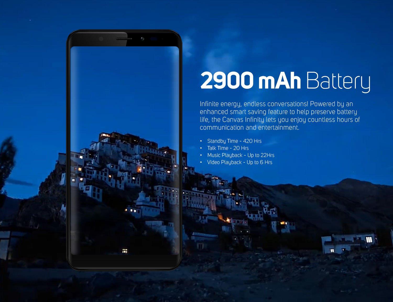 2900mAh battery