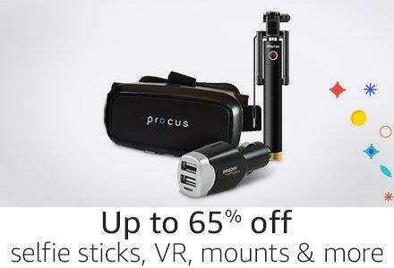 Selfie Sticks VR Mounts