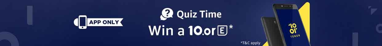 10or Quiz winners