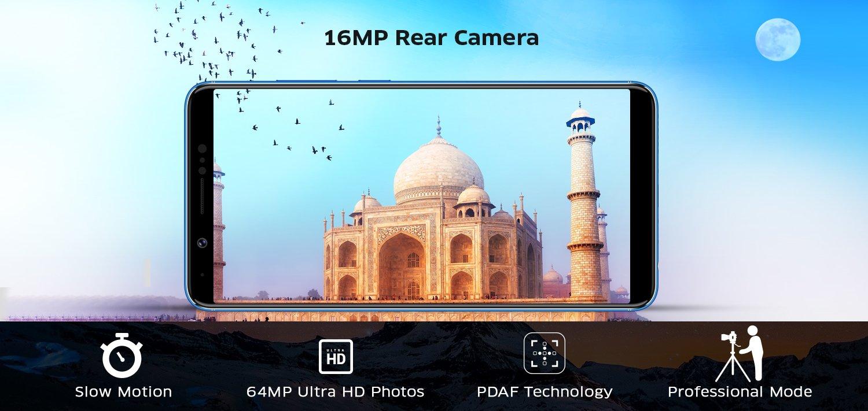 16 MP Rear Camera