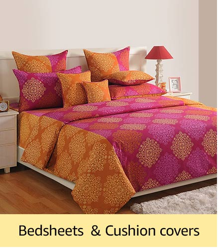 Bedsheets & cushion covers