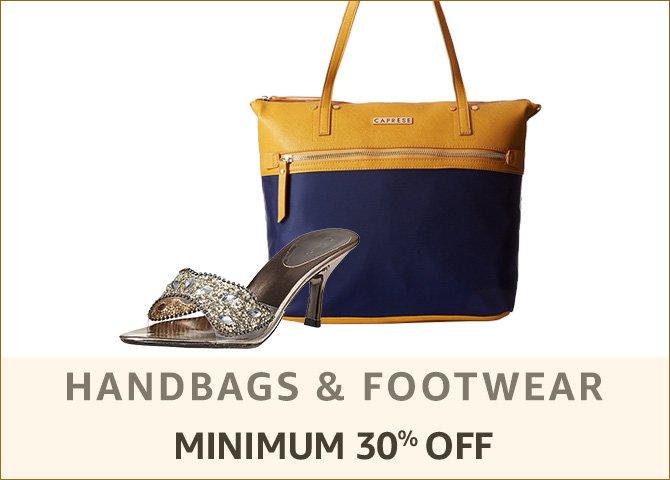Handbags & footwear