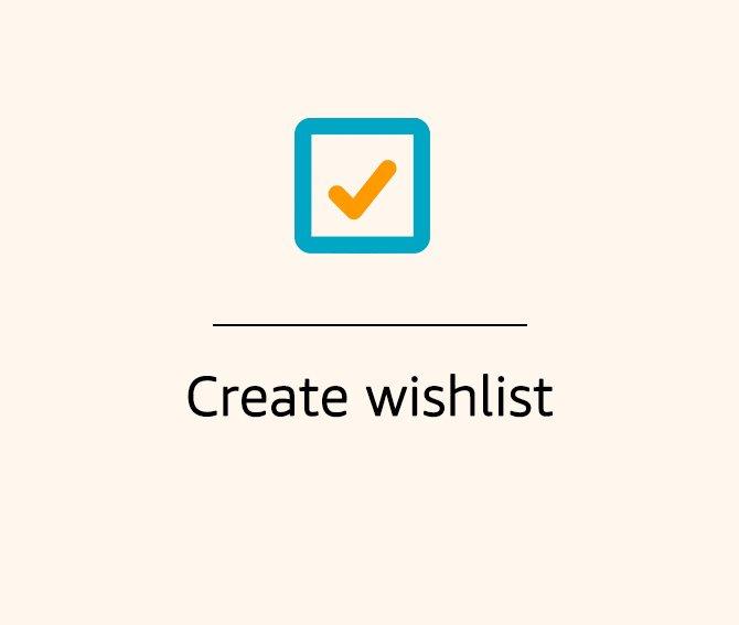 Create Wishlist