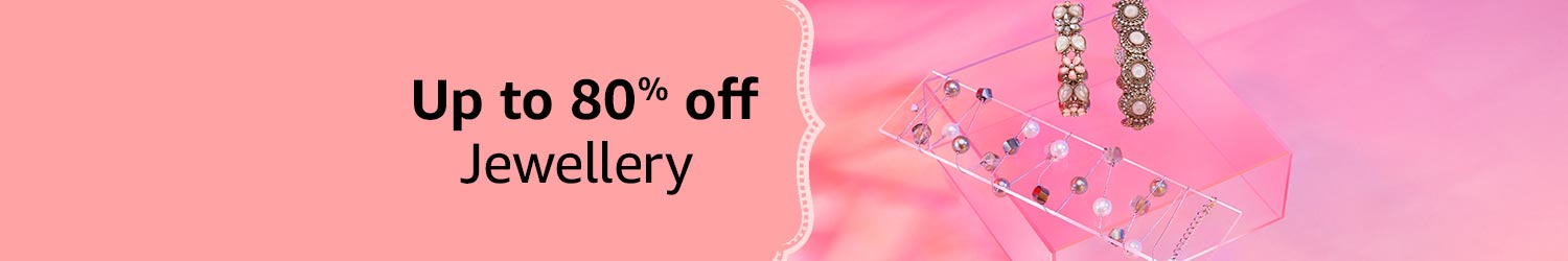 Up to 80% off Jewellery