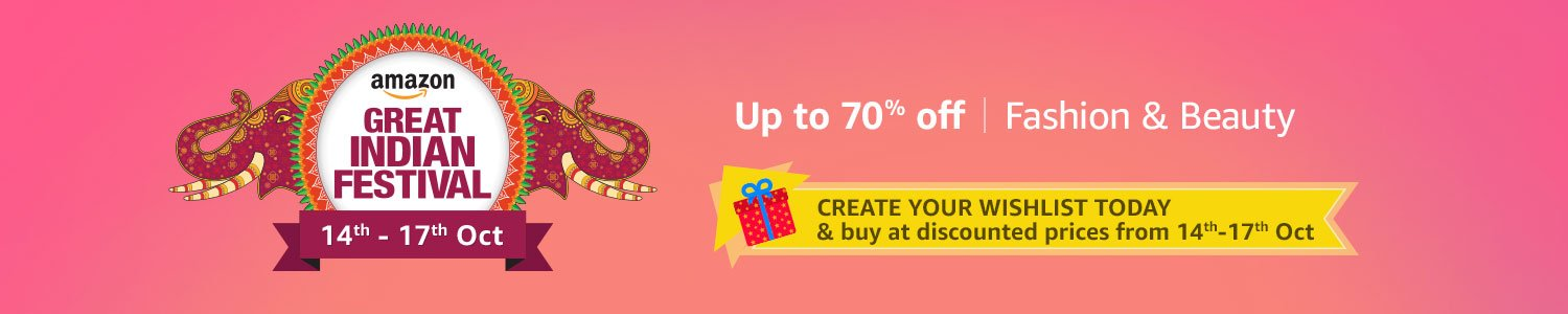 Up to 70% off Fashion & Beauty