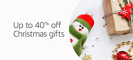 Up to 40% off Christmas Decor and Gifts