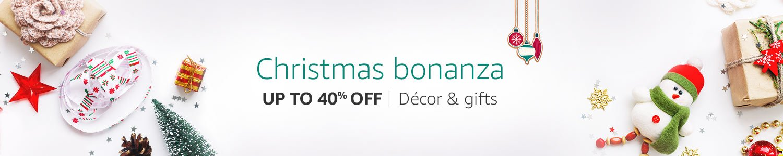 Christmas Bonanza Up to 40% off