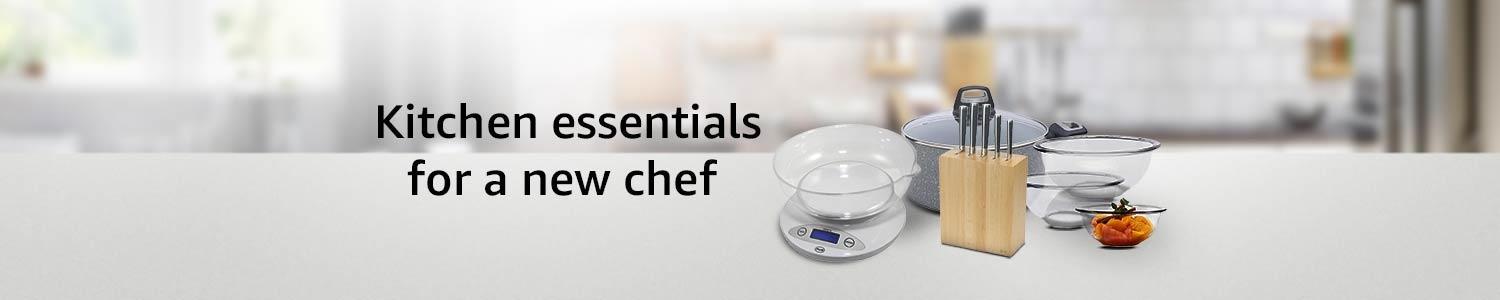 Kitchen essentials for a new chef