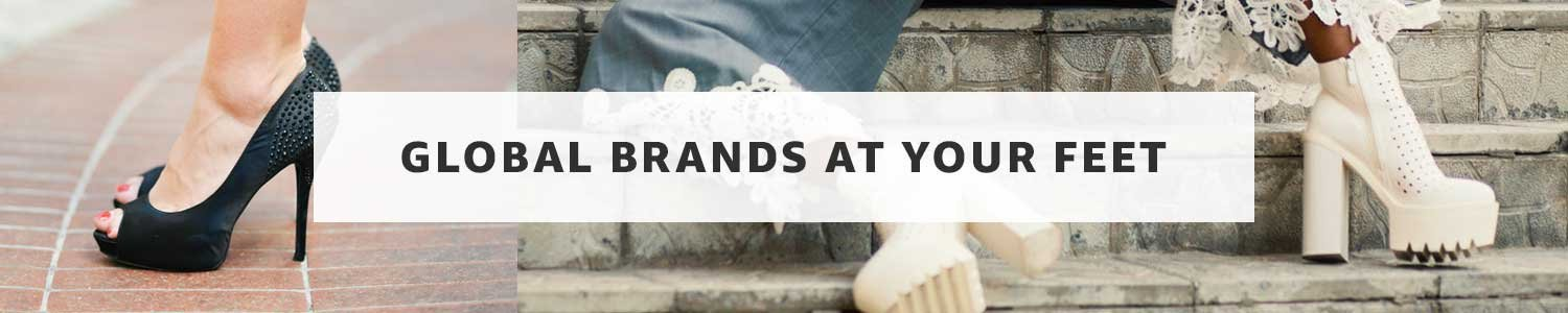 Brands at your feet