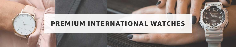 Premium international watches