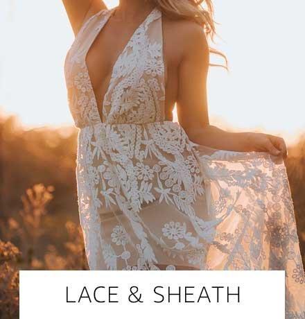Lace & sheath
