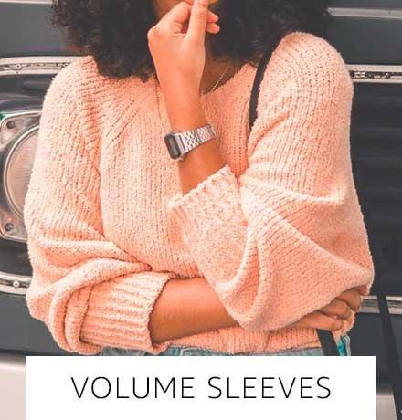 Volume sleeves