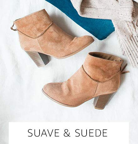Suave and suede