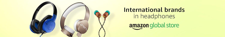 International brands in headphones