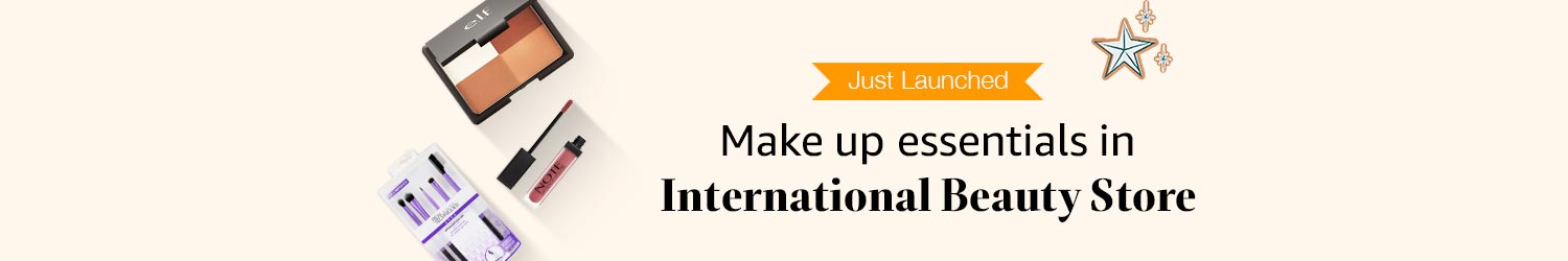 Make up essentials from International beauty store