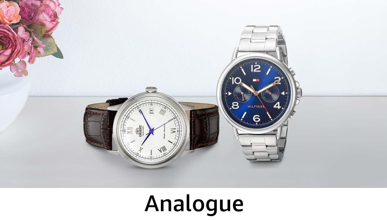 Analogue watches