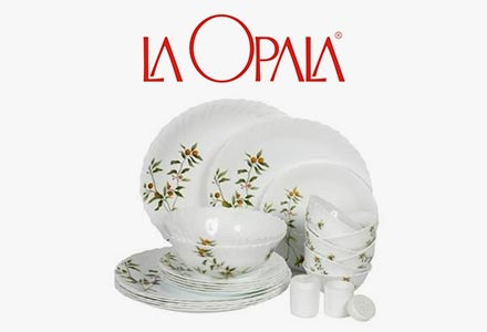 LaOpala  sc 1 st  Amazon.in & Dinnerware Sets Online : Buy Dinnerware Sets in India @ Best Prices ...