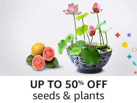 Up to 50% off Seeds & Plants