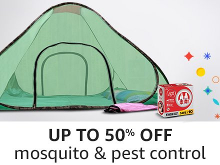 Up to 50 mosquito pest control