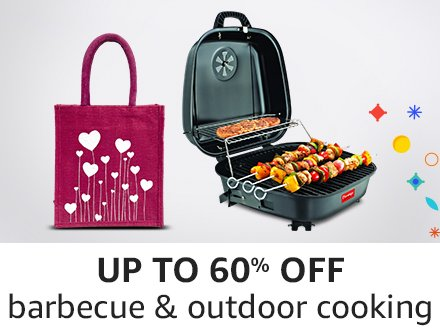 Up to 60% off barbecue & outdoor cooking