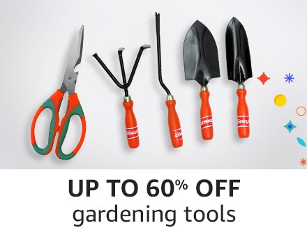 Up to 60% off gardening tools