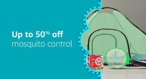 Up to 50% off Mosquito and pest control products