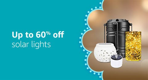 Up to 60% off solar products