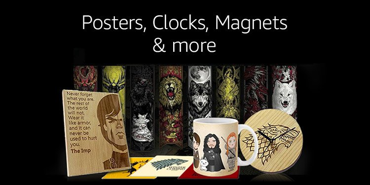 Posters, Clocks, Magnets & more