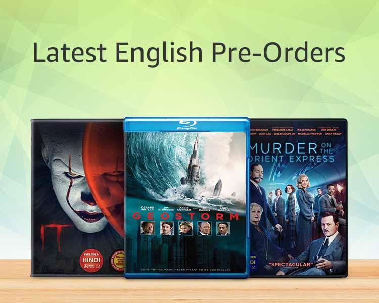 Latest english pre-orders