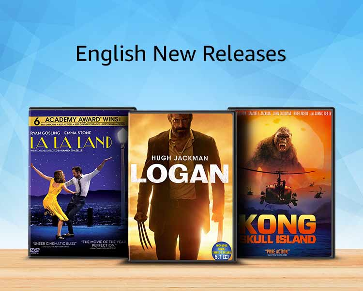 Latest english releases