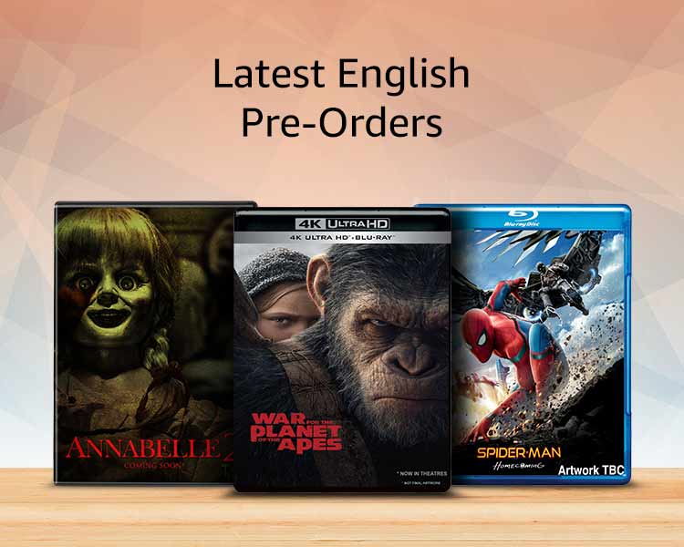 Latest english pre-orders