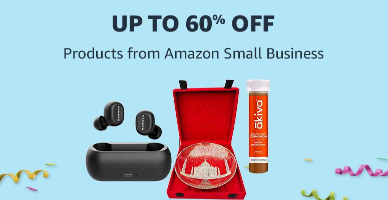 Products from Amazon Small Business