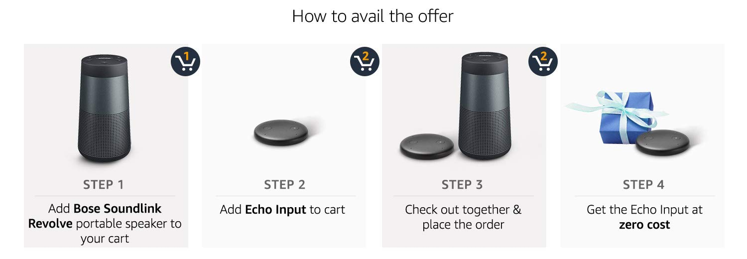 How to avail bose offer