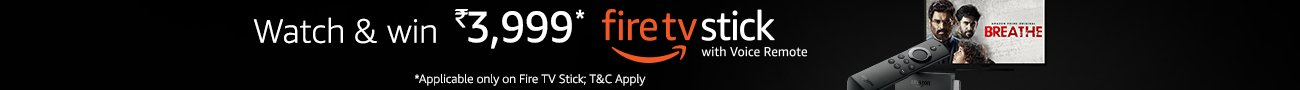 Fire TV Stick-Breathe Offer