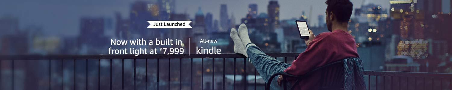 Meet the all-new Kindle, now with built-in front light