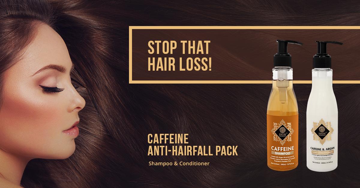 Anti-hairfall pack