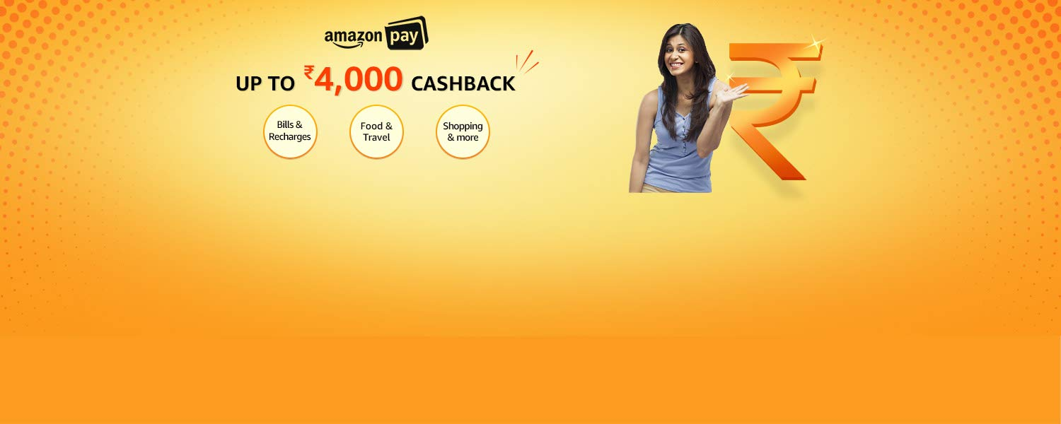 Amazon Pay | Up to Rs.4000 back