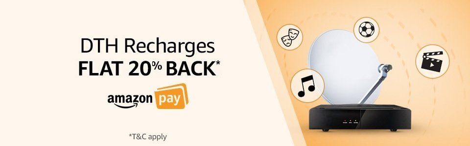 DTH Recharges 20% Back