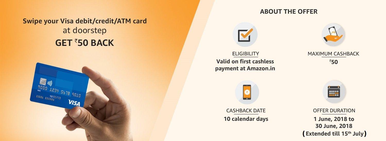 Pay using Visa