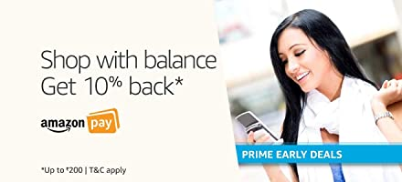 Shop with balance | Get 10% back