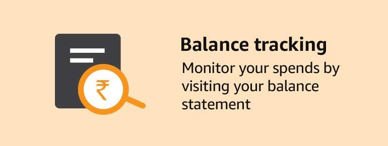Balance tracking