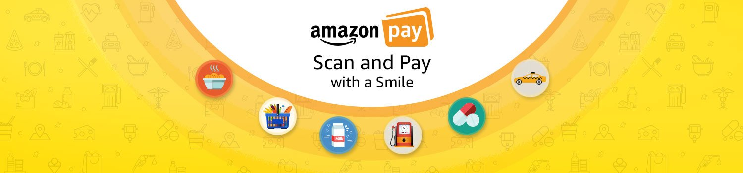 Scan & Pay with a smile