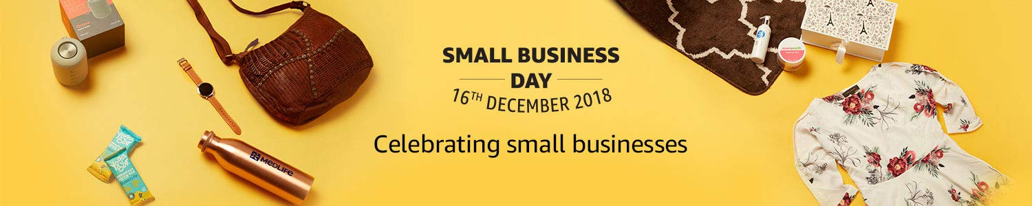 Small business day banner