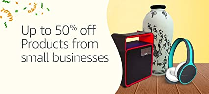 Up t0 50% off - Small Businesses
