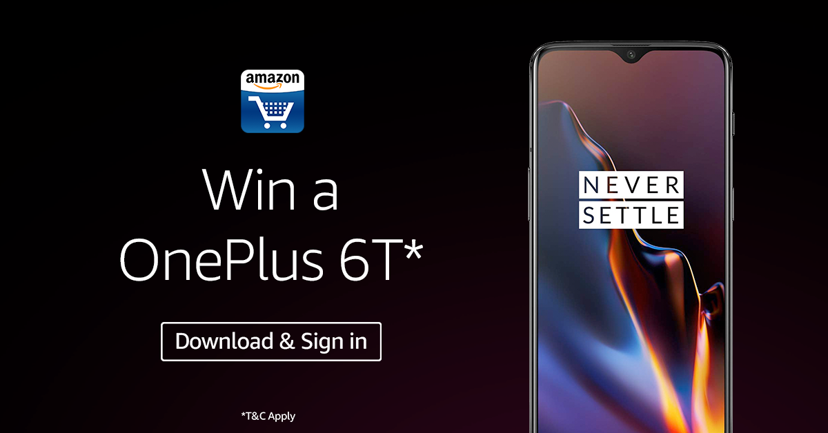 Stand a chance to win a op6t