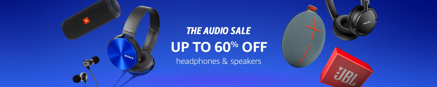 Audio Sale up to 60% off
